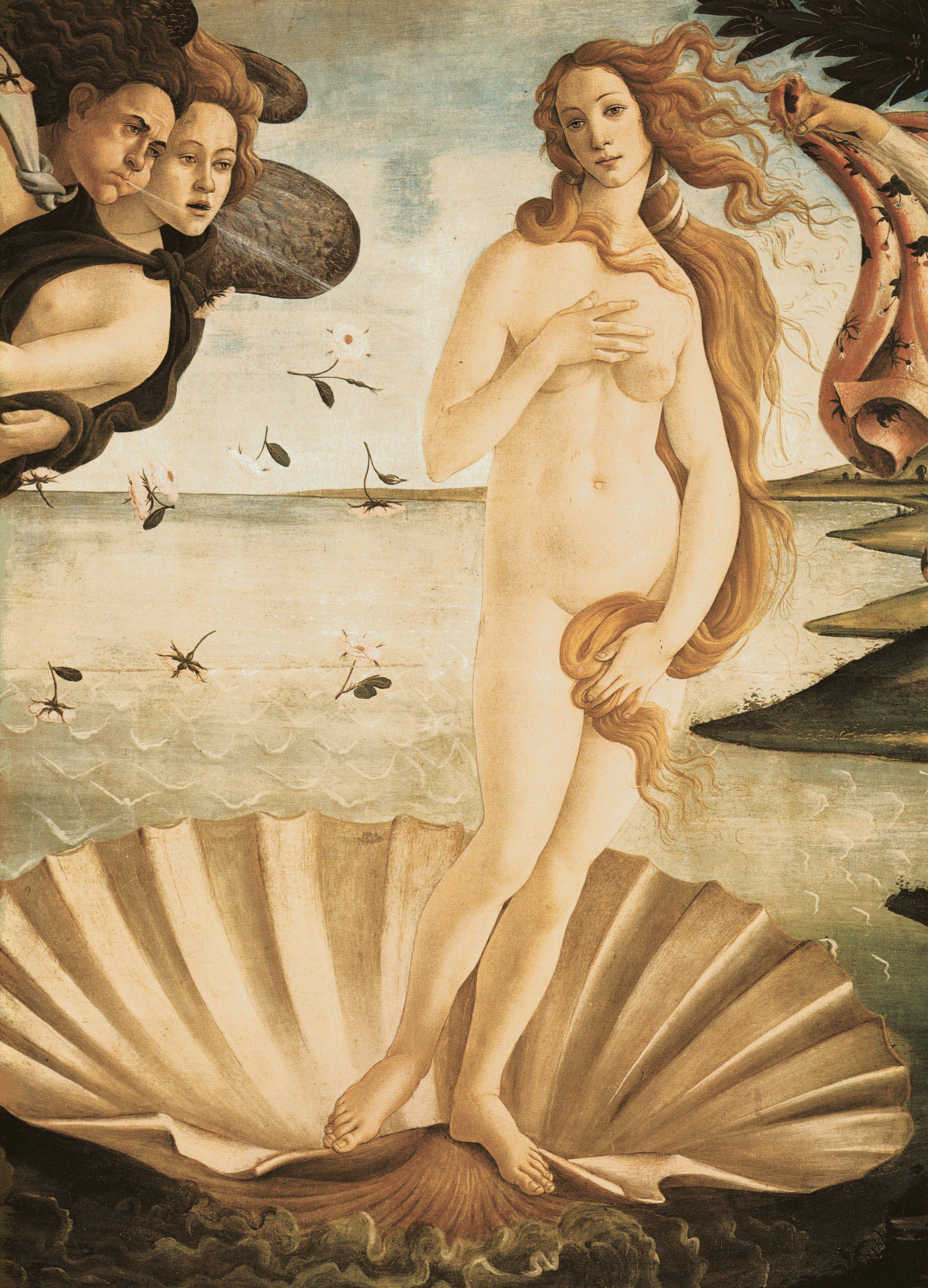 El Nacimiento De Venus De Sandro Botticelli La Estirga Burlona