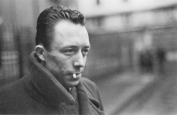 Albert Camus, foto de Cartier-Bresson.