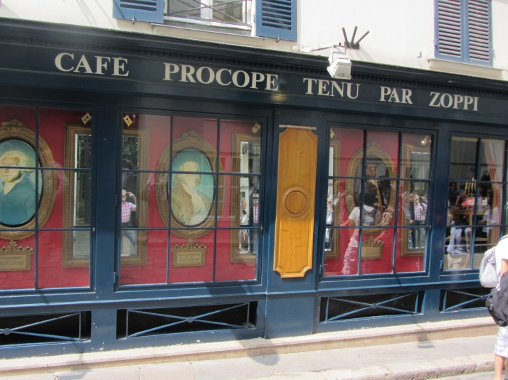 Café Procope. Foto_ Aurelio