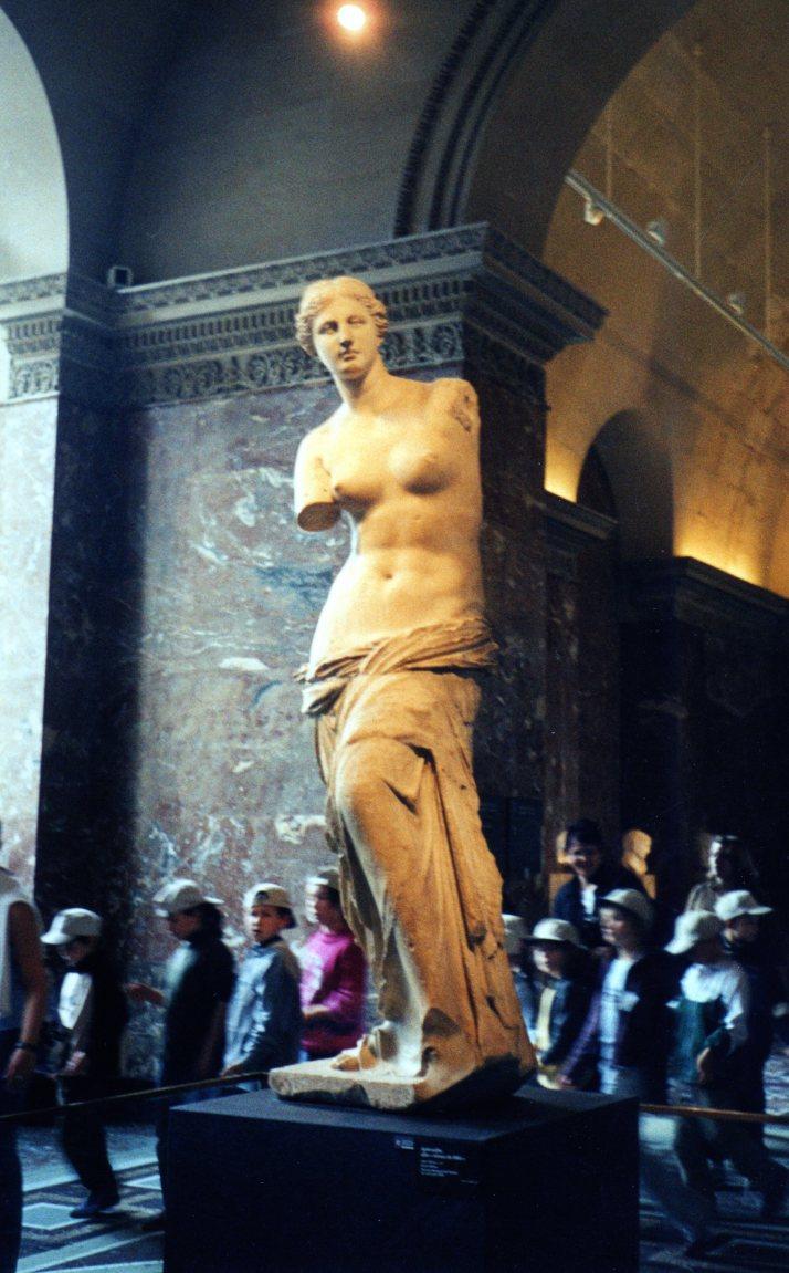 Venus de Milo. Museo del Louvre.