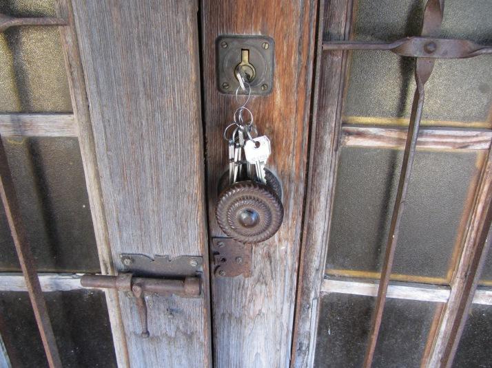 Las llaves. Foto: Bárbara.