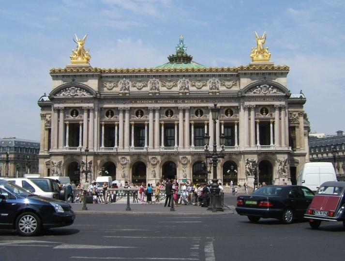 Le Palais Garnière. Foto: Bárbara.
