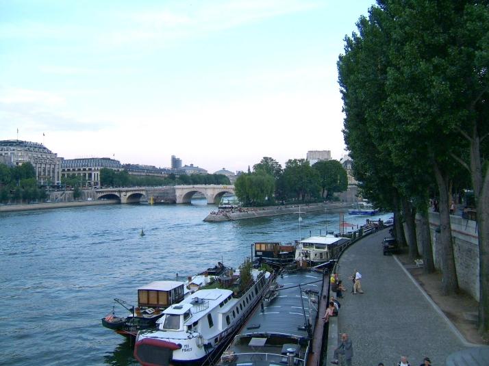 Margen izquierda del Sena. Foto: Bárbara.