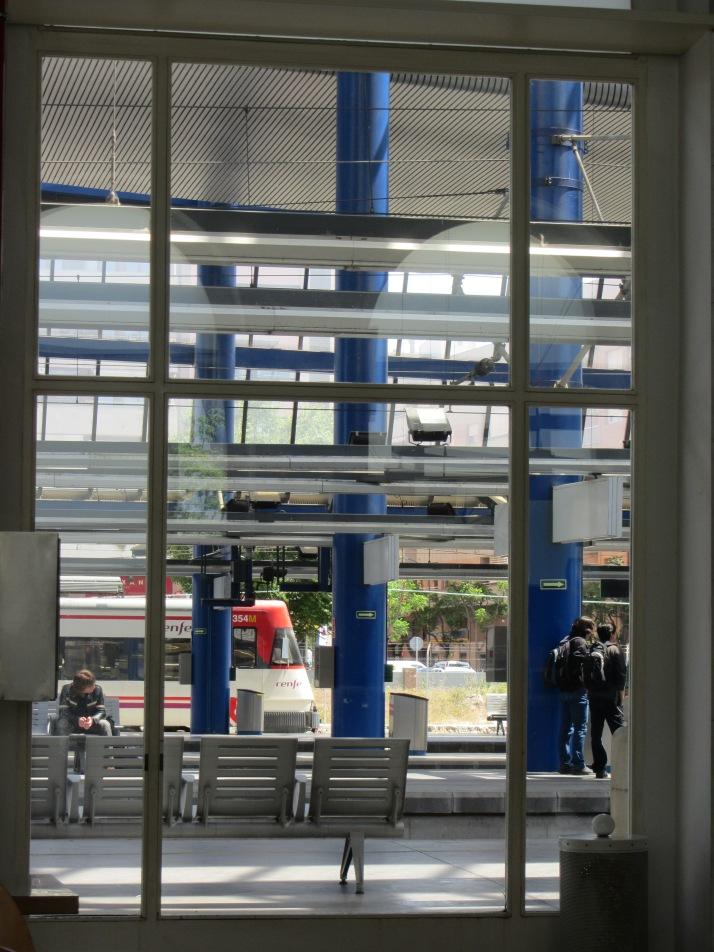Estación de LLeida. Foto: Bárbara.