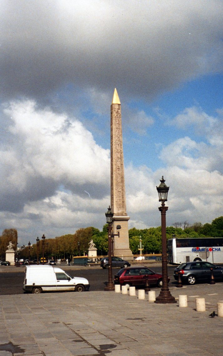 Obelisco, Place de la Cordorde. Foto: Bárbara.