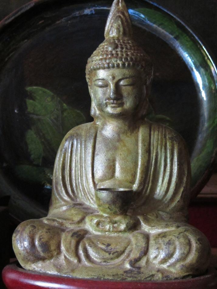 """""""La sonrisa del Buda"""". Foto: Bárbara."""