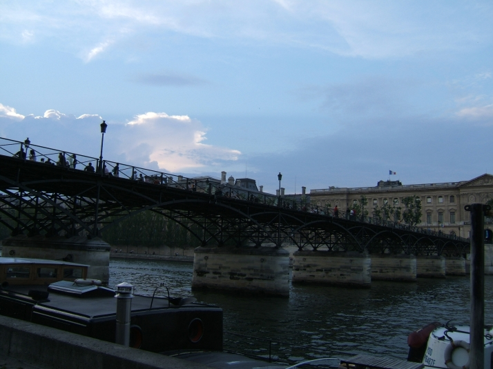 Pont des Arts. Foto: Bárbara.