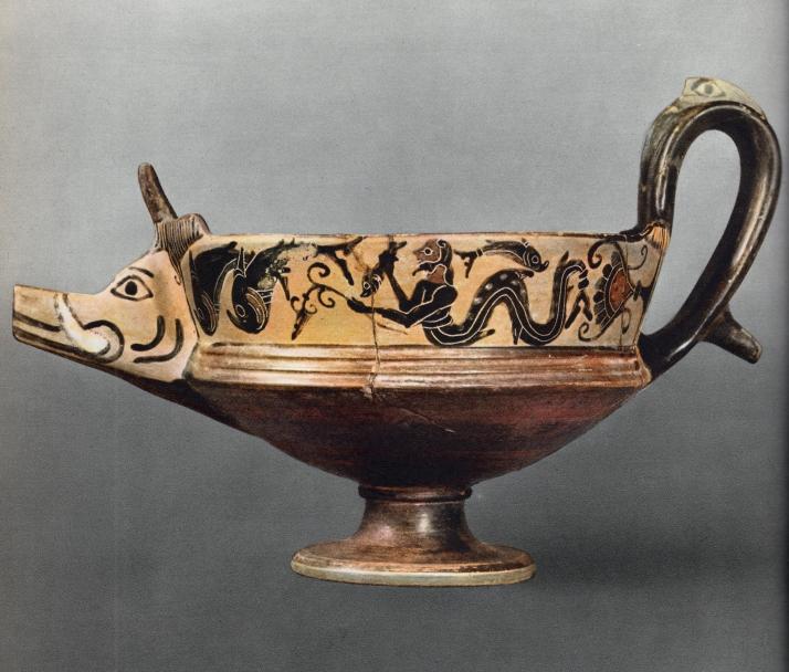 Cántaro de Beocia, Museo del Louvre