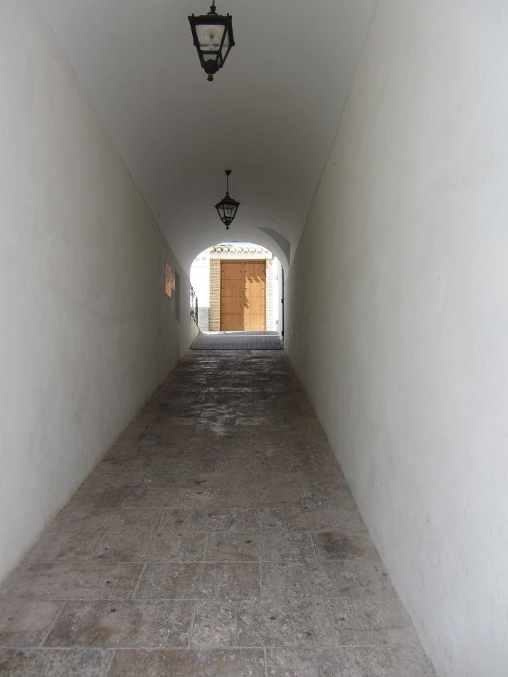 """La luz al fondo"". Foto: Bárbara."