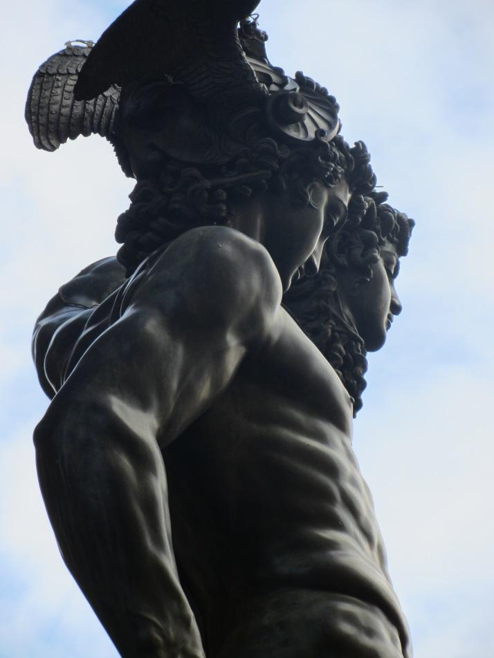 Perseo de Cellini. Foto: Bárbara.
