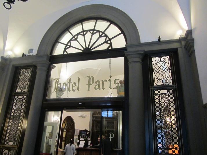 Hotel Paris. Foto: Bárbara