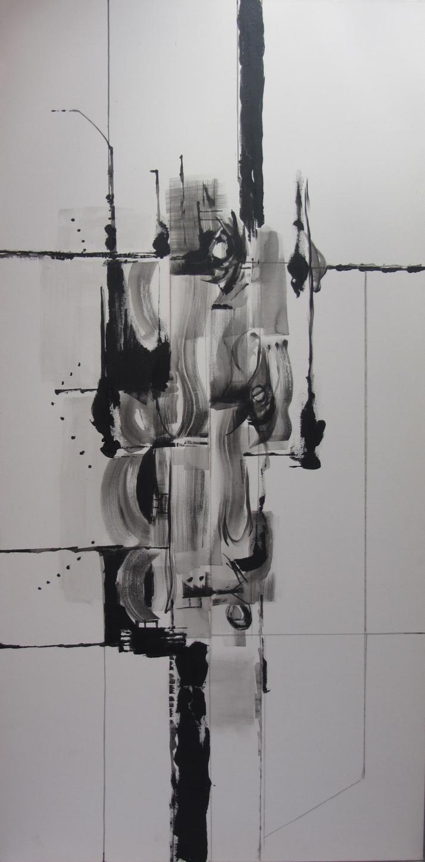 """Negro sobre blanco II"", Foto: Aurelio Serrano Ortiz"