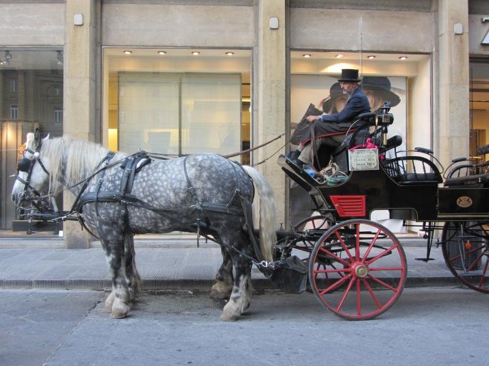 Frente a Zara. Foto: Bárbara.