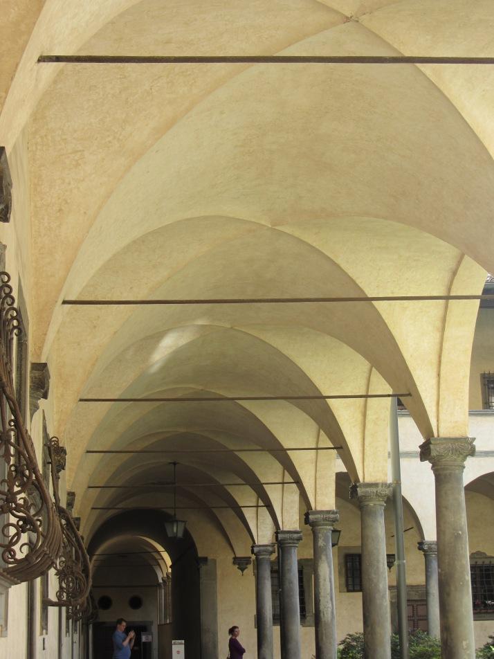 Claustro de S. Lorenzo. Foto: Bárbara.