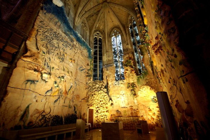 Miquel Barcelo, altar.