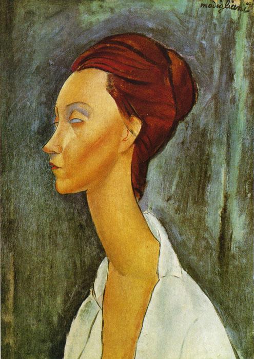 Modigliani: Lunia Czechowska. 1919