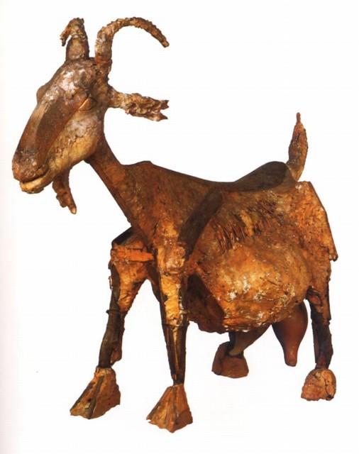 "Pablo Picasso, ""la cabra"". Original.1950, Vallauris."