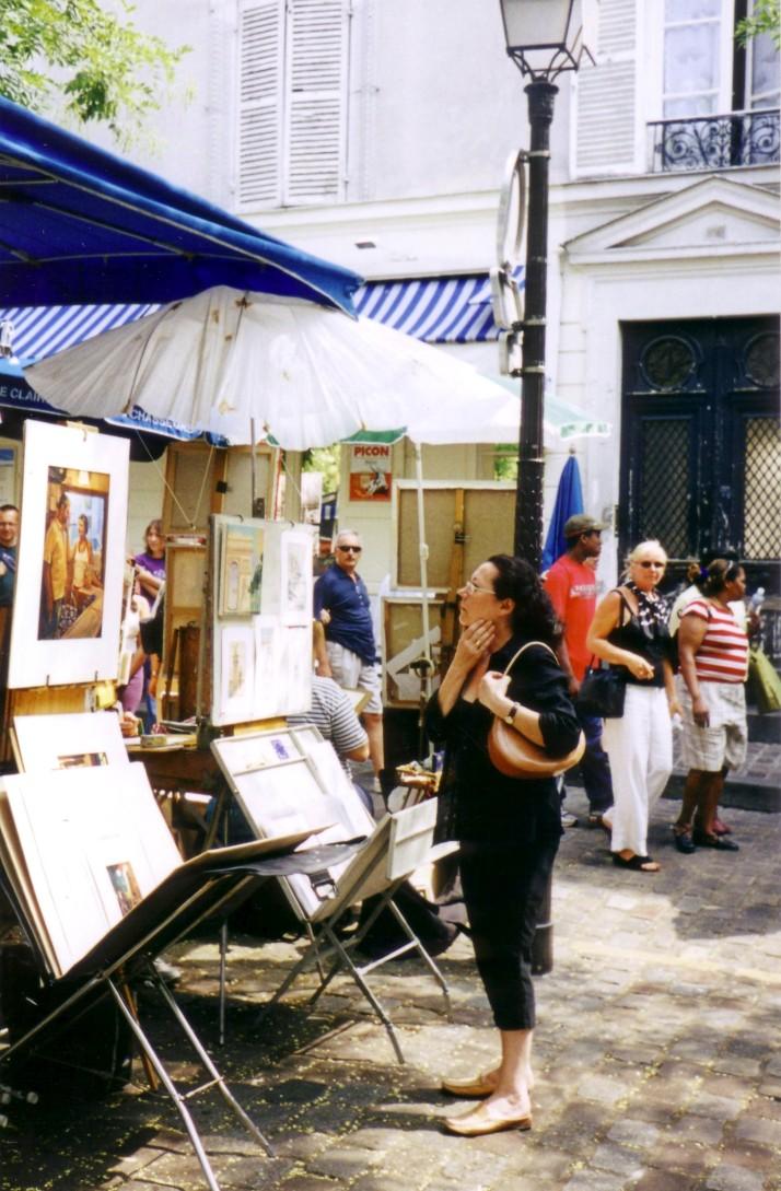 Place du Tertre (Montmartre). Foto: Aurelio.