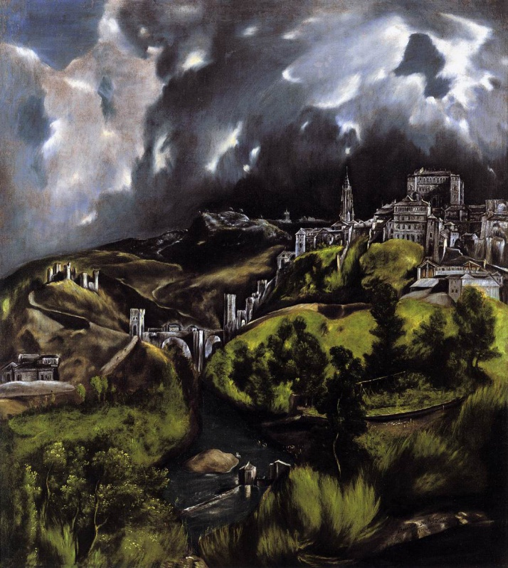 "El Greco: ""Toledo"". The Metropolitan Museum of N.Y."