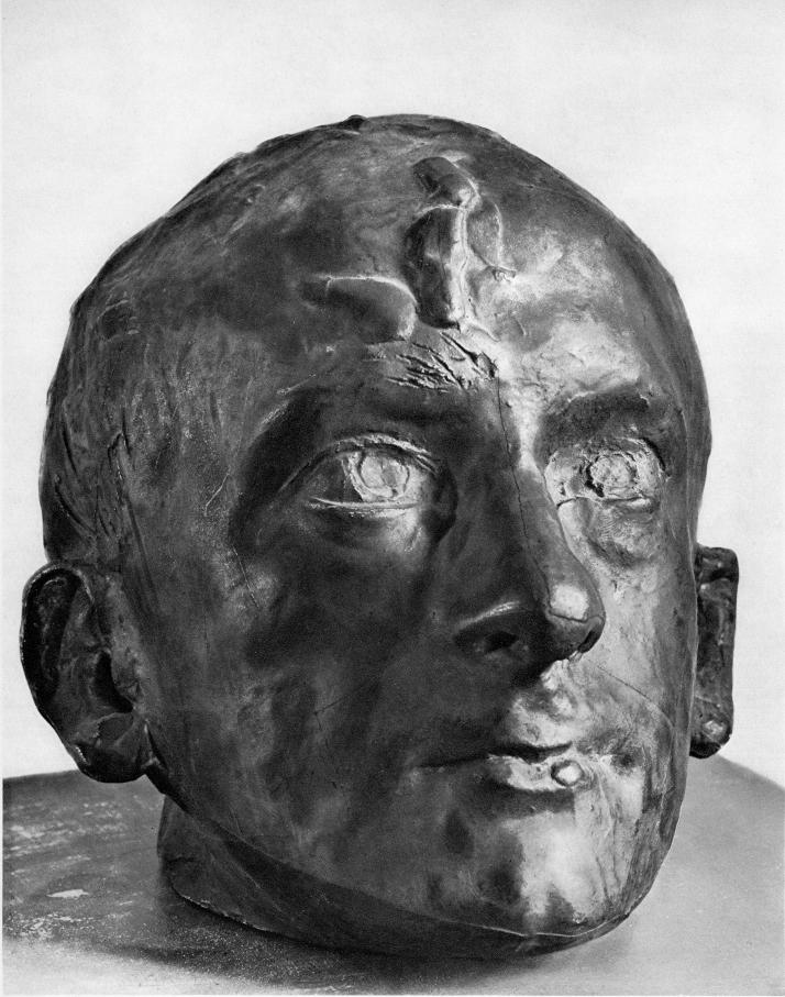 """A. Rodin, """"Baudelaire"""""""