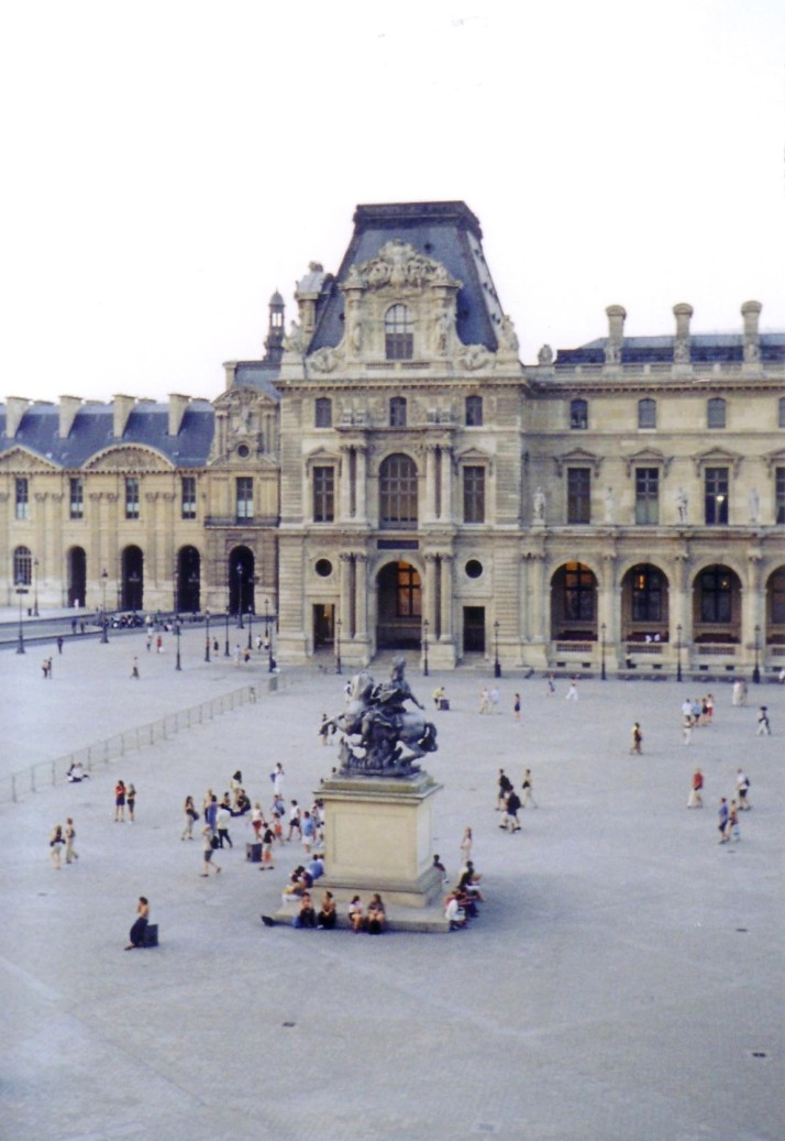 Le Louvre. Foto: Bárbara.