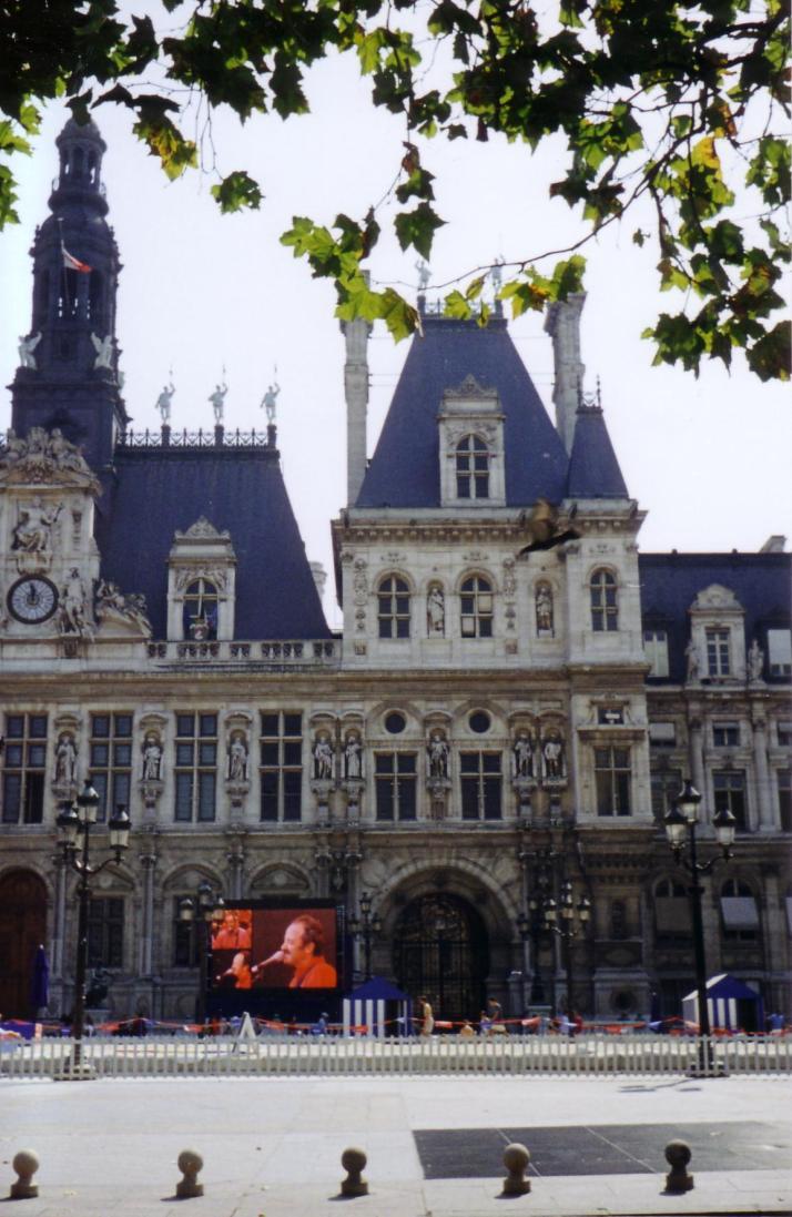 L'Hôtel de Ville. Foto: Bárbara.