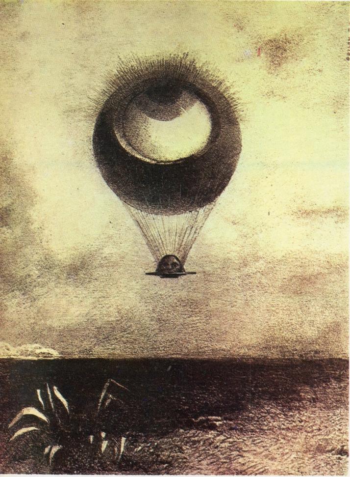 "Odilon Redon: ""El ojo como un globo extraño"""