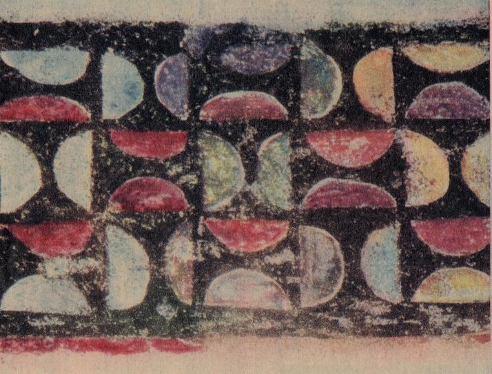 Friso del siglo XII de la iglesia de Burgal.