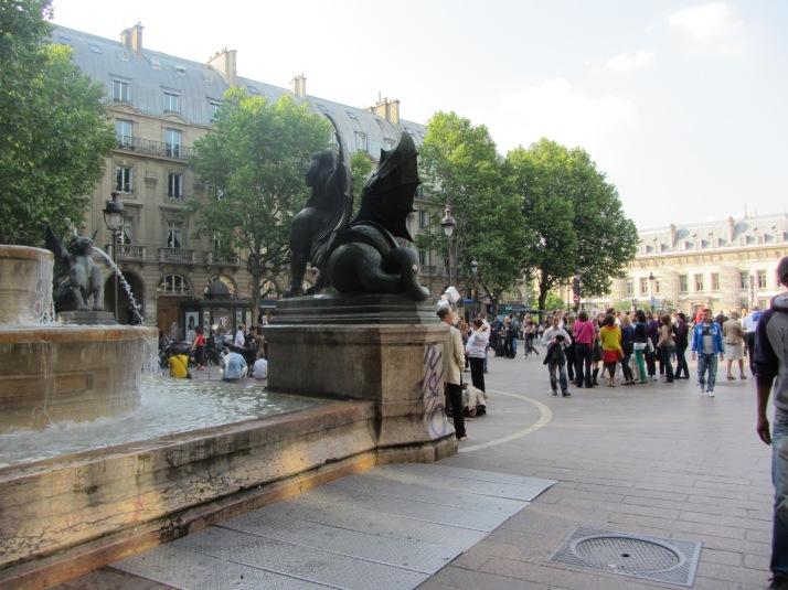 La Place S. Michel. Foto: Bárbara.