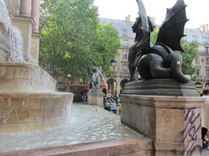 Place de S. Michel. Foto: Bárbara.