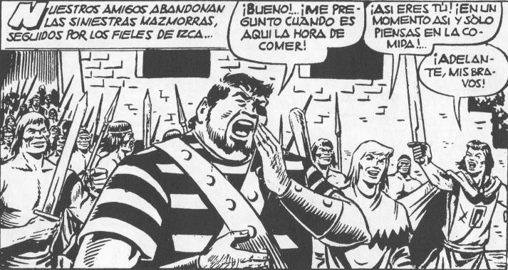 """Goliat, """"el tragaldabas""""."""