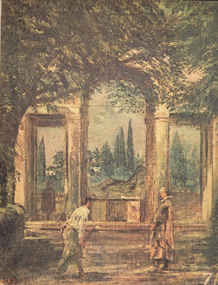 """Velázquez: """"El mediodía"""". Museo del Prado."""
