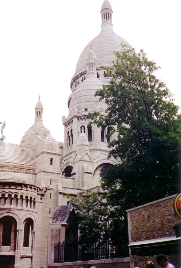 Le Sacré Coeur. Foto : Bárbara