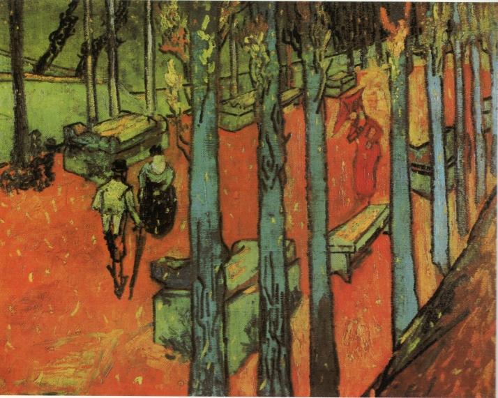 """Van Gogh: """"Les Alyscamps, chute de feuilles"""""""