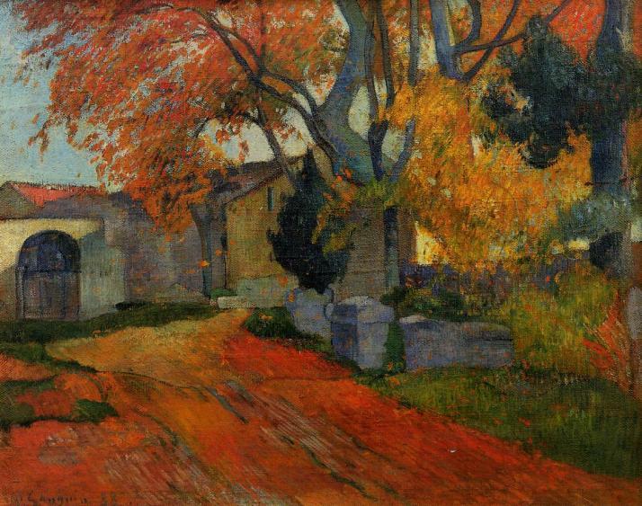 Gauguin: Les Alyscamps (Mueo de Orsay)