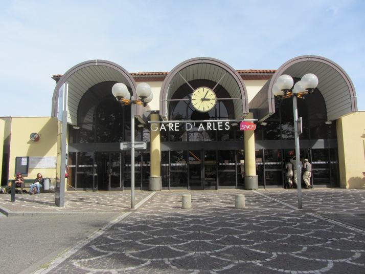 La Gare d'Arles. Foto: Bárbara