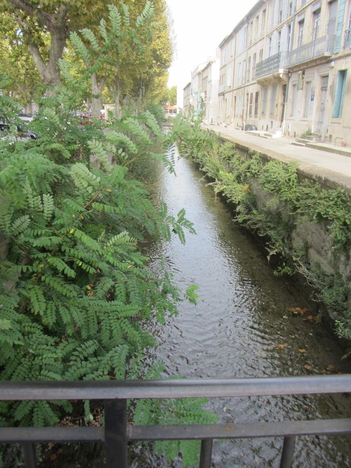 El canal de Craponne. Foto: Bárbara