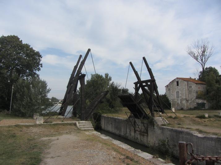 Le pont de Langlois en la actualidad. Foto: Bárbara