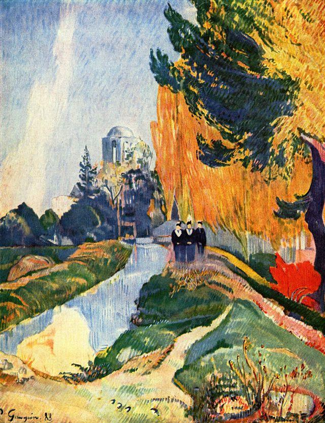 Gauguin: Allée des Alyscamps