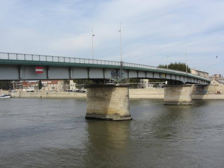 Puente de Trinquetaille sobre el Ródano. Foto: Bárbara