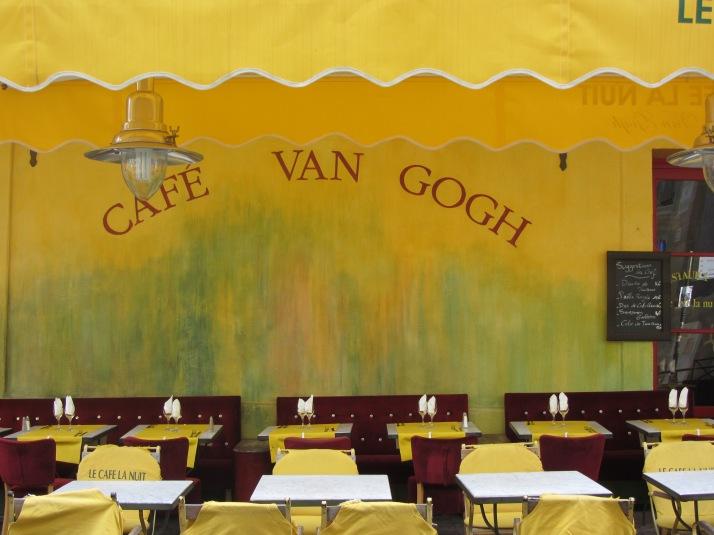 Café Van Gogh. Place du Forum. Foto: Bárbara