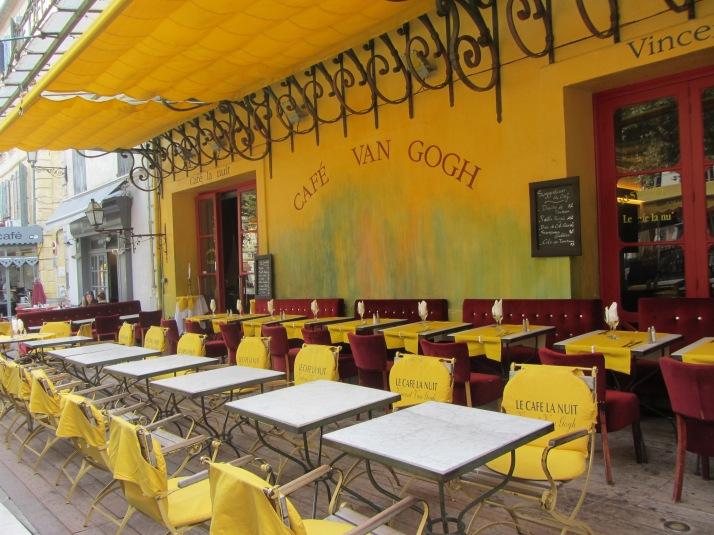 Café Van Gogh. Foto: Bárbara