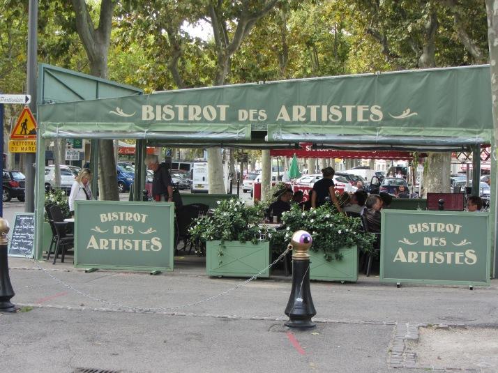 Bistrot des Artistes (Arles), Foto: Bárbara