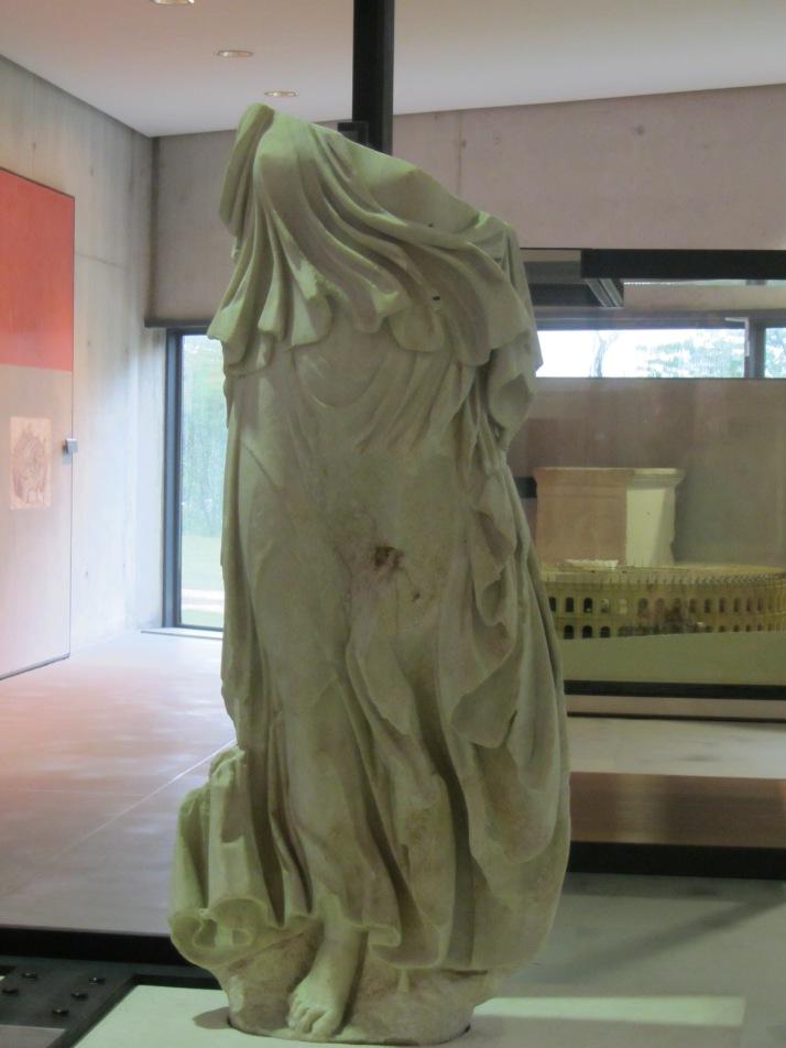 Bailarina romana. Foto: Bárbara