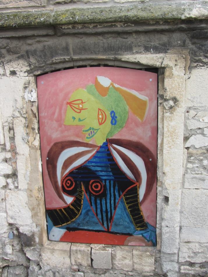 """Picasso: """"Lee Miller  en Arlésienne"""", 1937. Museo Réattu (Arles). Foto: Bárbara"""