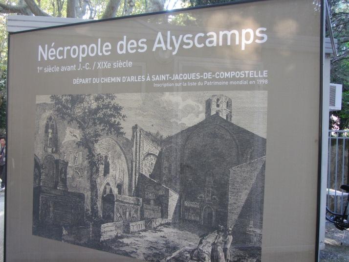 Les Alyscamps. Foto: Bárbara