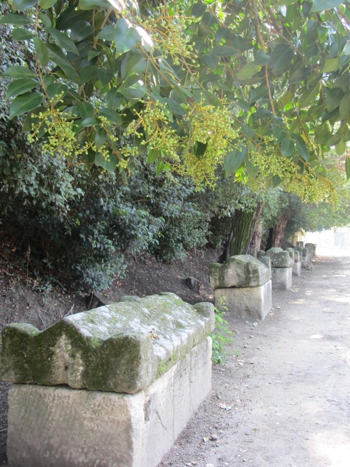 Sarcófagos. Foto: Bárbara