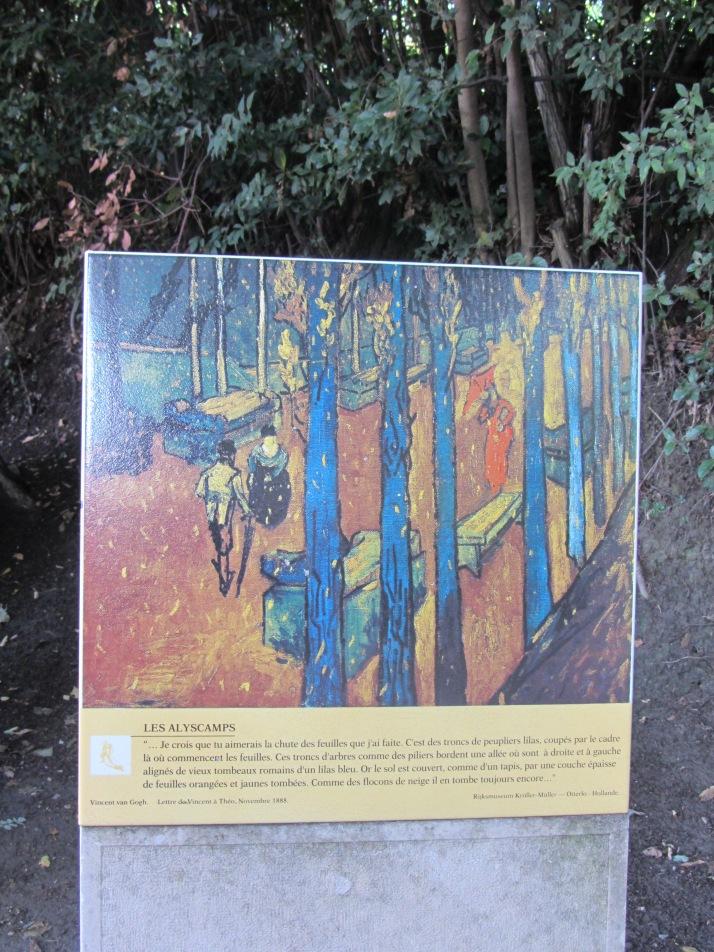 """Vincent Van Gogh: """"Les Alyscamps"""". Foto: Bárbara"""