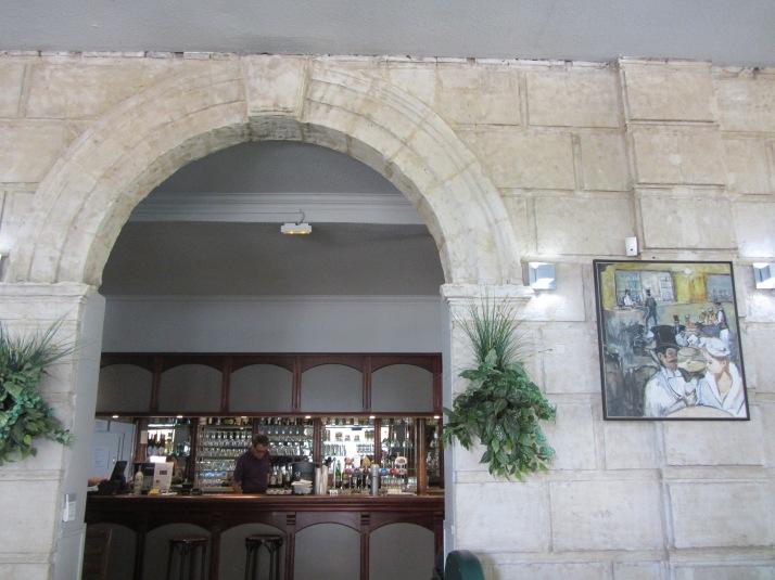 Interior de Le Malarte Foto: Bárbara