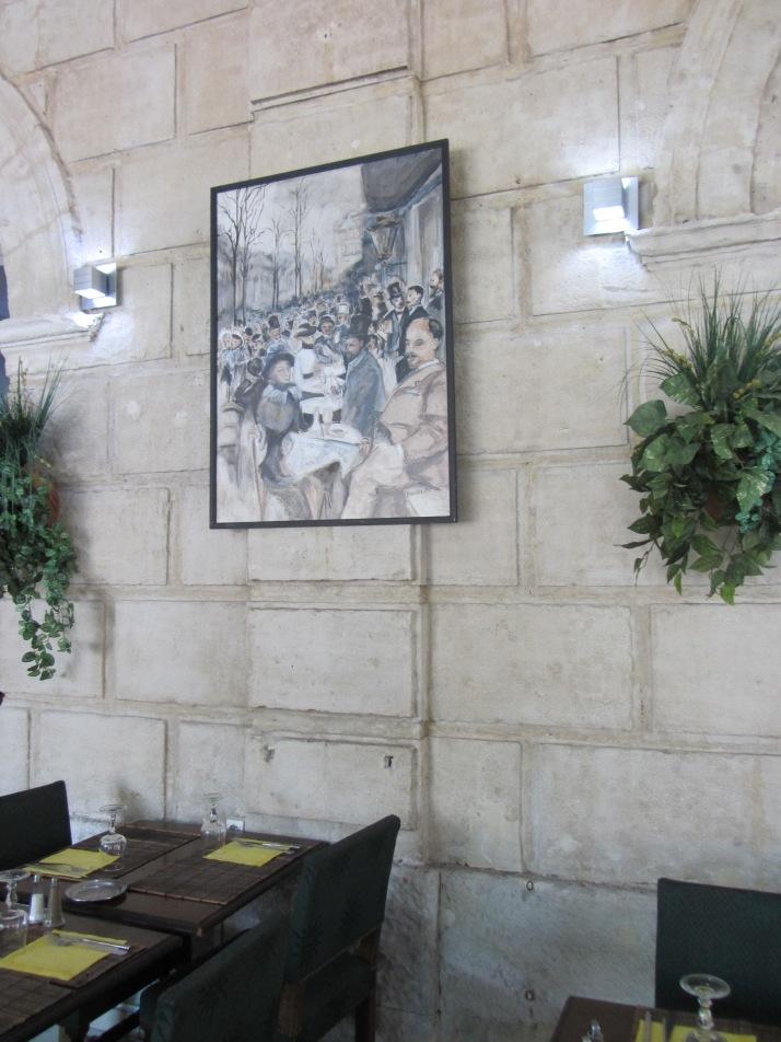 Interior de Le Malarte. Foto: Bárbara